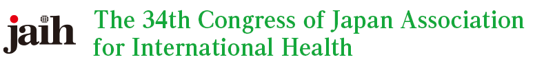 The 34th Congress of Japan Association for International Health